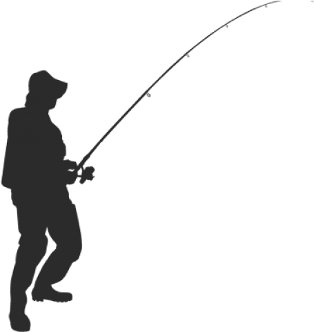 Download Fishing Pole Png Transparent Images Vector Silhouette Fish Rod Png Png Image With No Background Pngkey Com