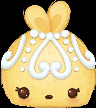 Fancy Cake Num Goldie Cake - Num Noms Fancy Cake (445x430), Png Download