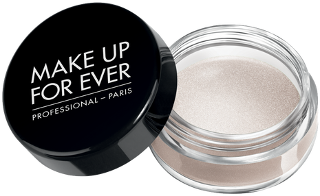 Make Up For Ever Aqua Cream Eye Color, 04 Snow, Jar - Make Up Products For Eyes (500x500), Png Download