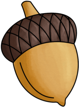 Download Acorn Clipart Transparent - Acorn Clipart PNG Image with ...