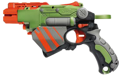 I Had The Pleasure Of Reviewing The Nerf Vortex Proton - Nerf Vortex (400x400), Png Download