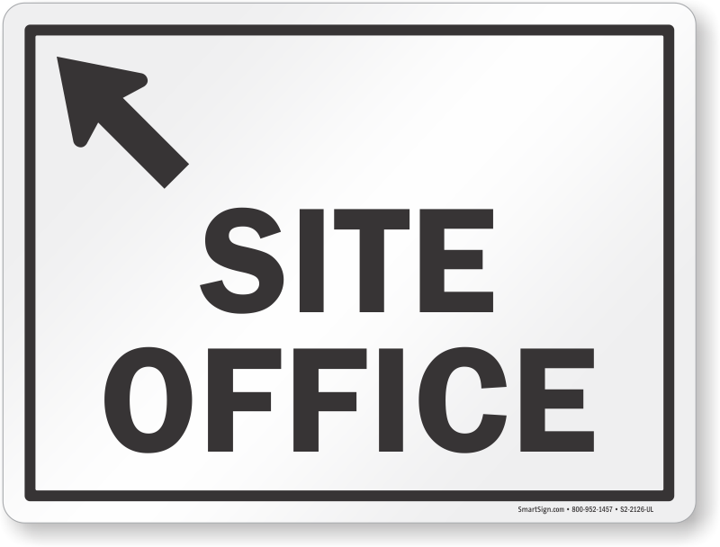 Site Office Sign - Do Not Use Toilets (800x608), Png Download