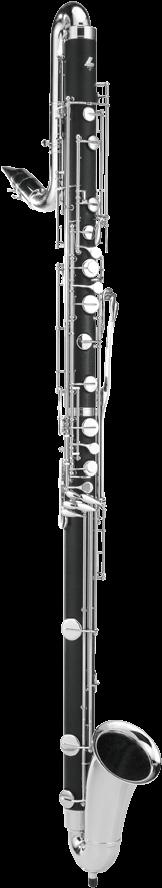 Leblanc L7181 Contra Alto Clarinet - Alto Clarinet Png (237x943), Png Download