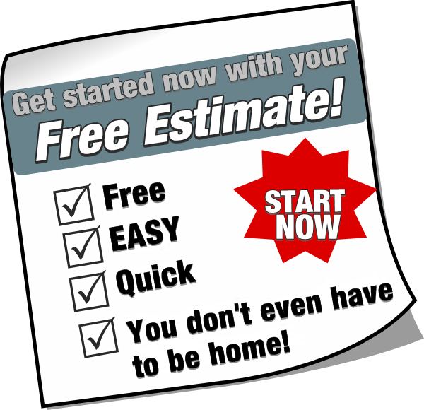 Get A Free Estimate - Call Us For Free Estimate (600x580), Png Download