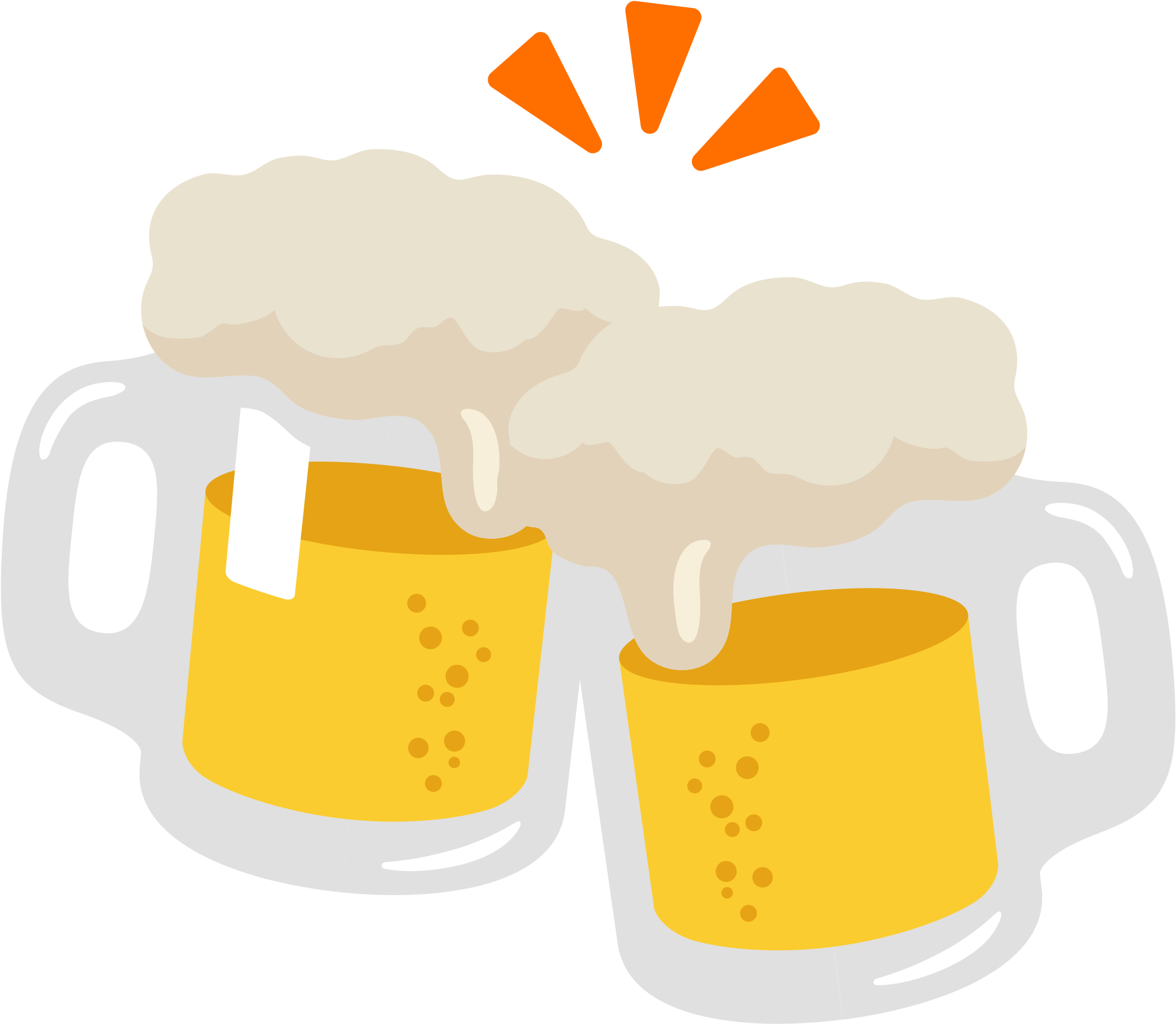 Download Open - Beer Emoji Png PNG Image with No Background