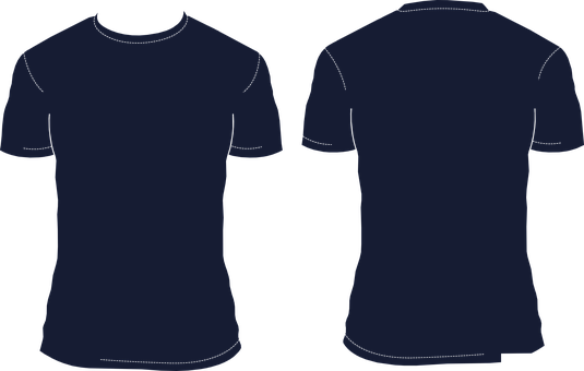 Download T Shirt Template Blank Shirt T Shirt T Shi Navy