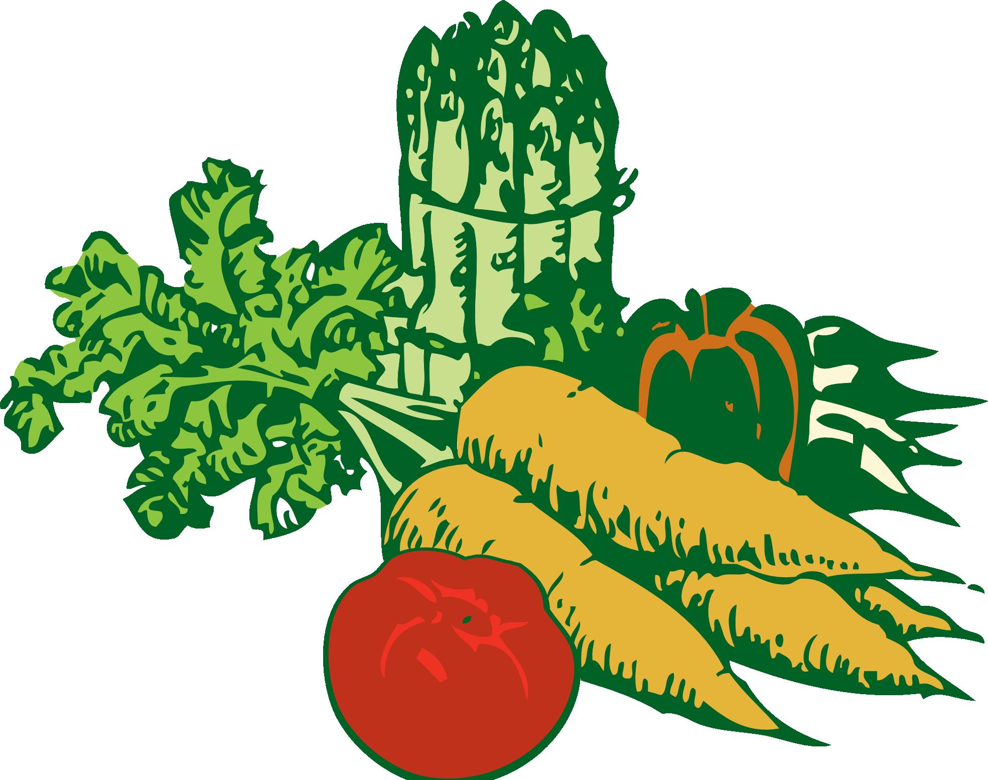 Vegetable Clip Art - Vegetable Clipart (1969x1554), Png Download