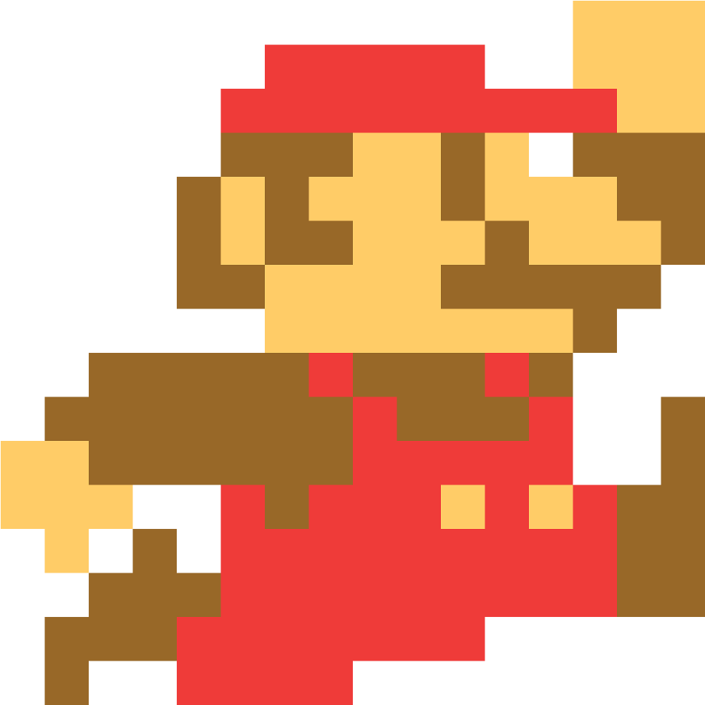 8-bit mario png download mario -  bit mario png image with no background