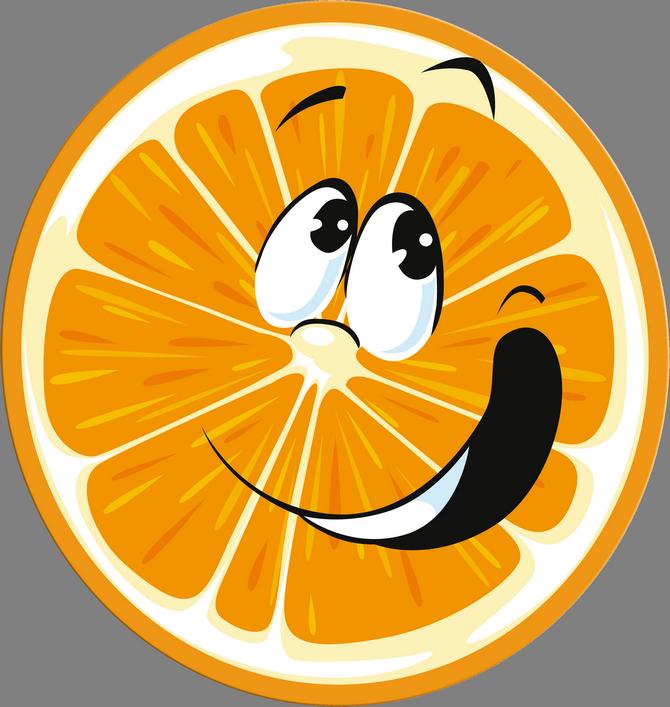 статусы картинках смайлик апельсинка фото сеть пиццерий, кафе