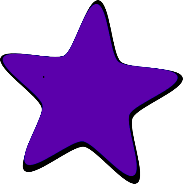 Stars purple. Download colorful clipart png