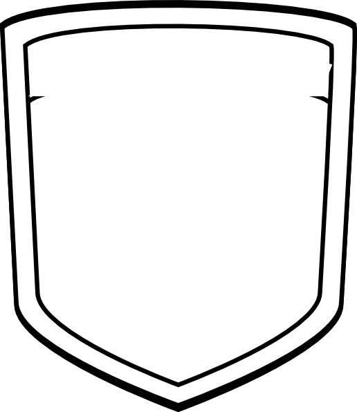 Blank Shield Soccer Clip Art