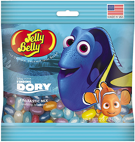 Jelly Belly Disney Pixar Finding Nemo Jelly Beans - Finding Dory Jelly Beans (500x500), Png Download