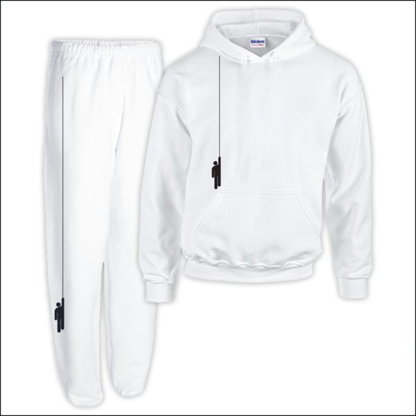 Download White Hoodie Sweatpants Billie Eilish Hoodie And Sweatpants Png Image With No Background Pngkey Com