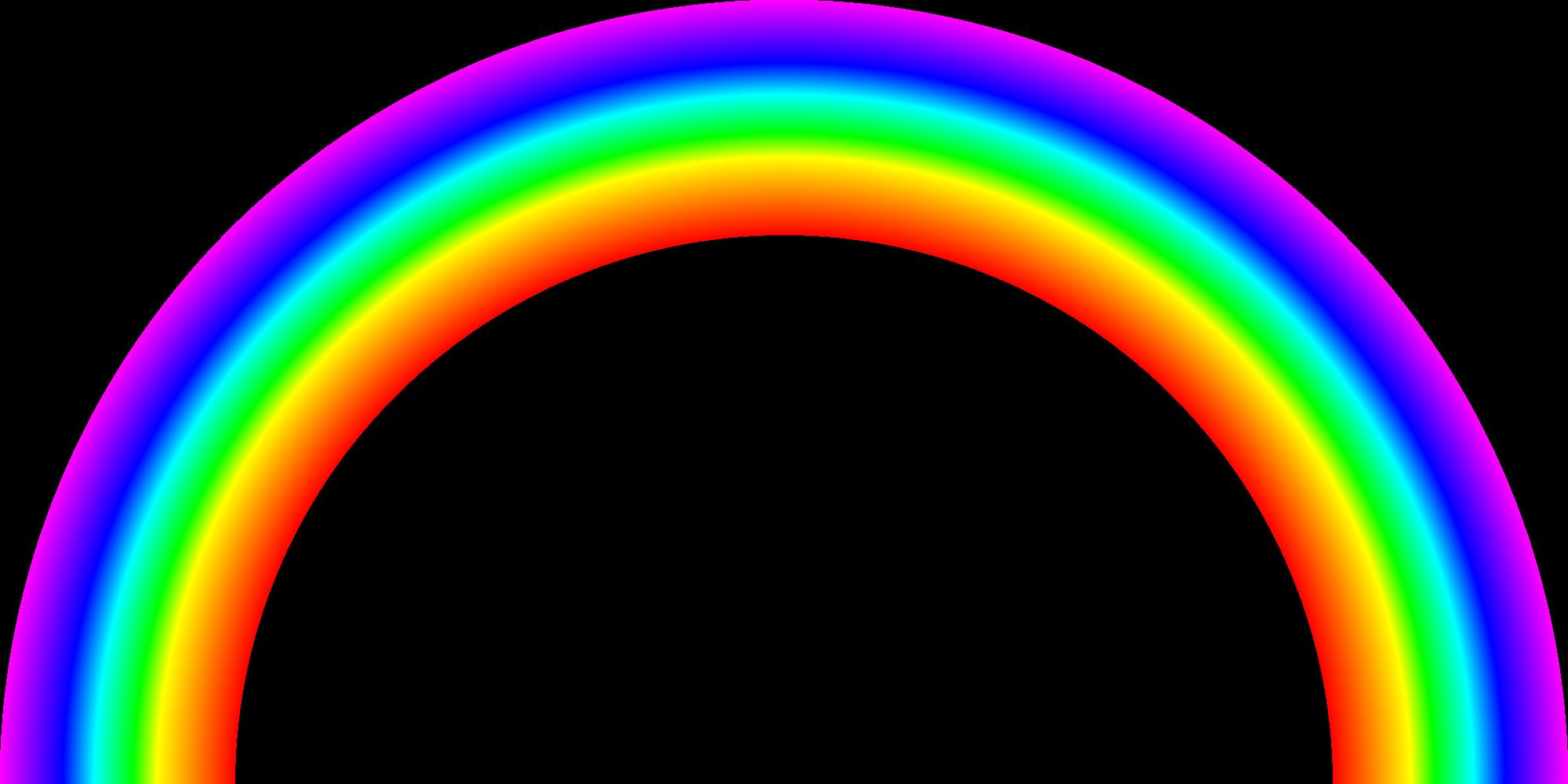 картинка радуги без фона днем здоровья тебя