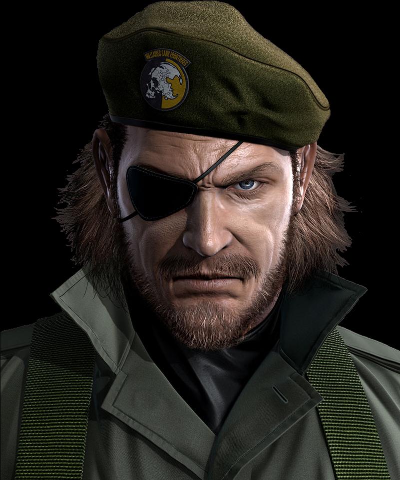 Metal Gear Solid 5 Big Boss Png - Metal Gear Solid Peace Walker Big Boss (800x1000), Png Download