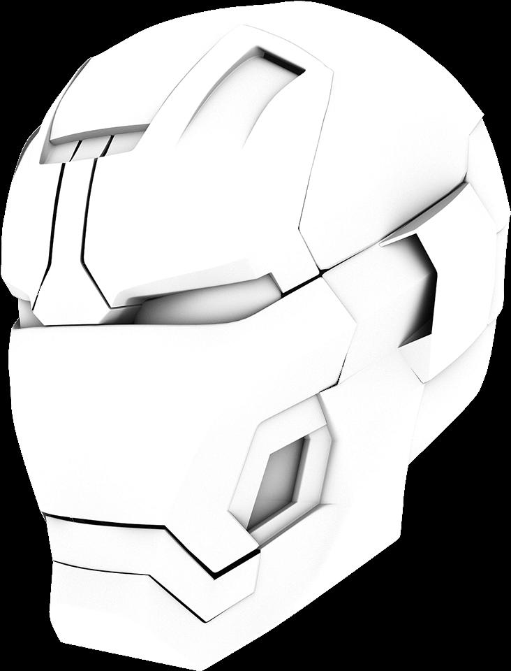 Drawing Iron Man Helmet Max Installer