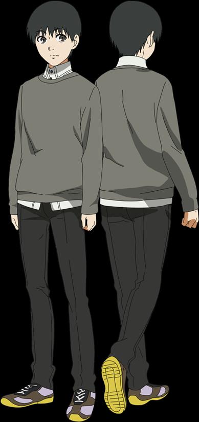 Download Kaneki Anime Design Full View - Tokyo Ghoul