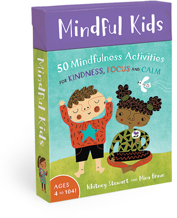 Introducing Mindful Kids - Mindful Kids: 50 Activities For Calm, Focus (400x470), Png Download