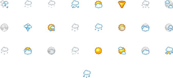 Weather Report Png Image - Weather Report Png (733x352), Png Download