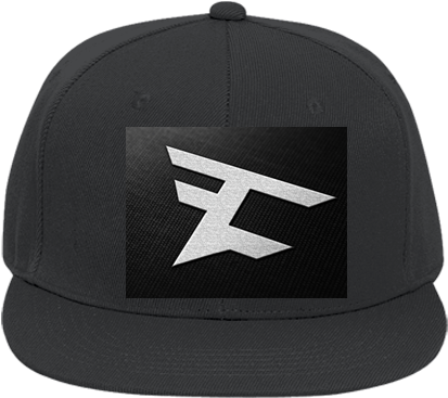 Download Flat Bill Fitted Hats 123 - Faze Clan PNG Image with No ... 899465a45cb