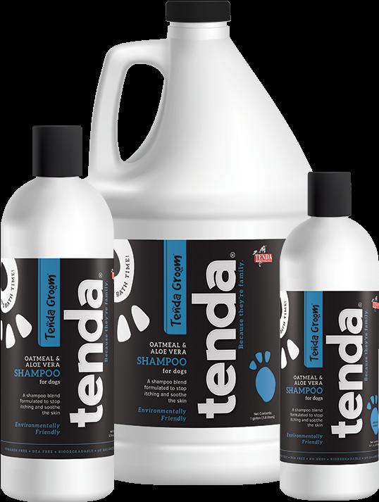 Tenda Equine & Pet Care Oatmeal & Aloe Vera Shampoo - Shampoo (801x801), Png Download