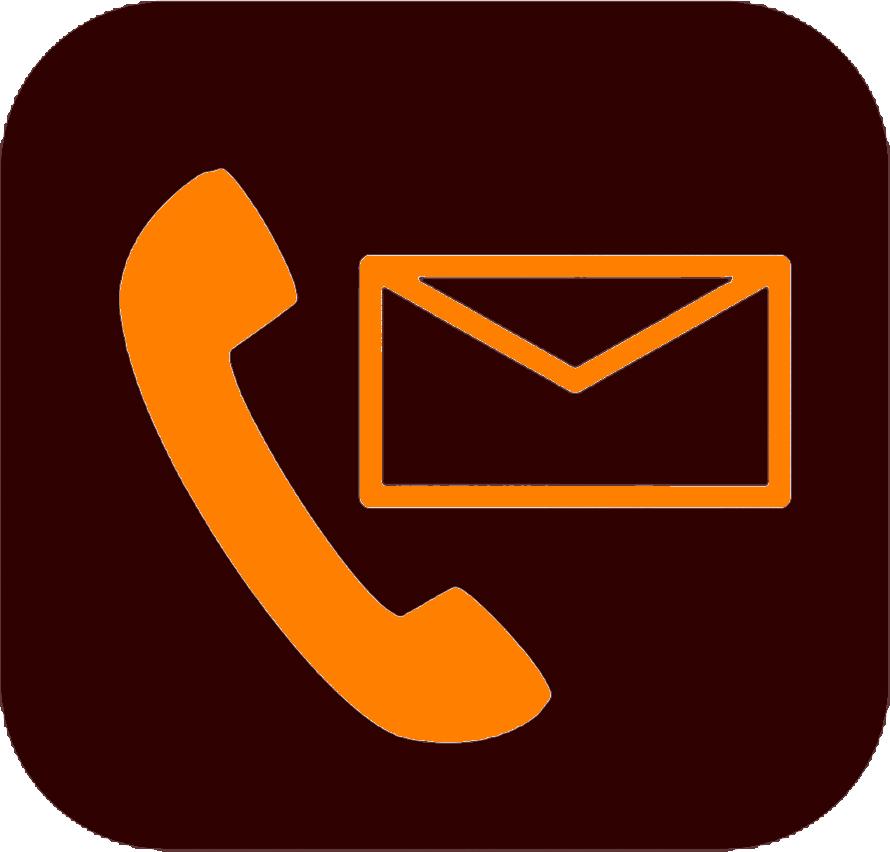 Это изображение имеет пустой атрибут alt; его имя файла - 137-1376938_contact-icons-png-contact-icon-orange-png.png