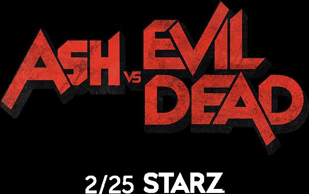 Ash Vs Evil Dead Png Svg Black And White Stock - Ash Vs Evil Dead Logo (607x388), Png Download