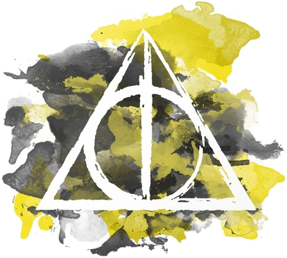 Harry Potter And The Deathly Hallows (414x372), Png Download