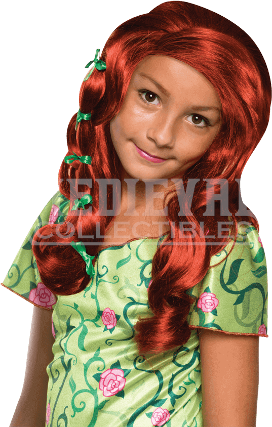 Download dc superhero girls poison ivy wig girl's poison ivy wig.