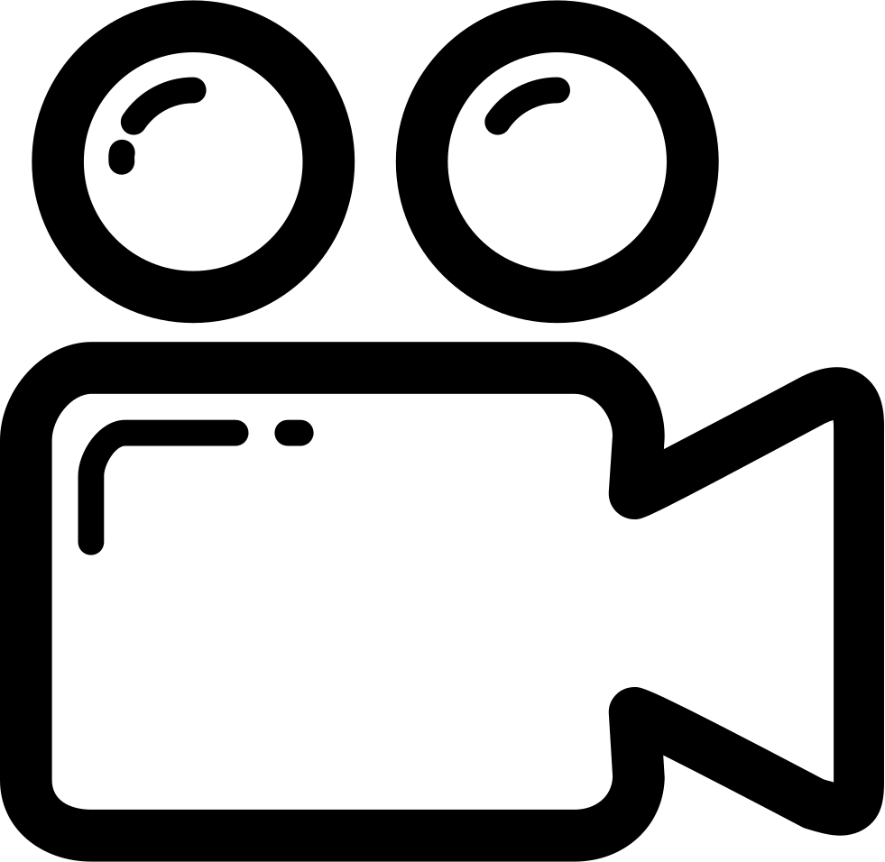Video Camera Png Icon Clip Art Black And White Library - Video Camera Png Icon (981x956), Png Download