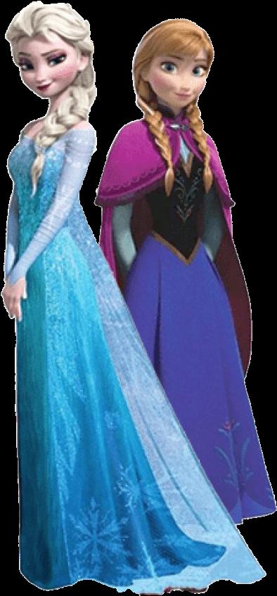 Frozen Elsa Y Anna Png - Frozen Princess Png Elsa (243x510), Png Download