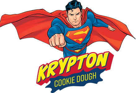 Superman Krypton Cookie Dough Ice Cream - Imagenes De Superman (439x303), Png Download