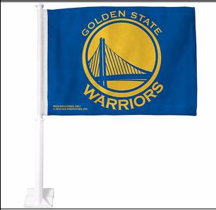 Golden State Warriors Car Flag - Golden State Warriors T Shirt Design (305x415), Png Download