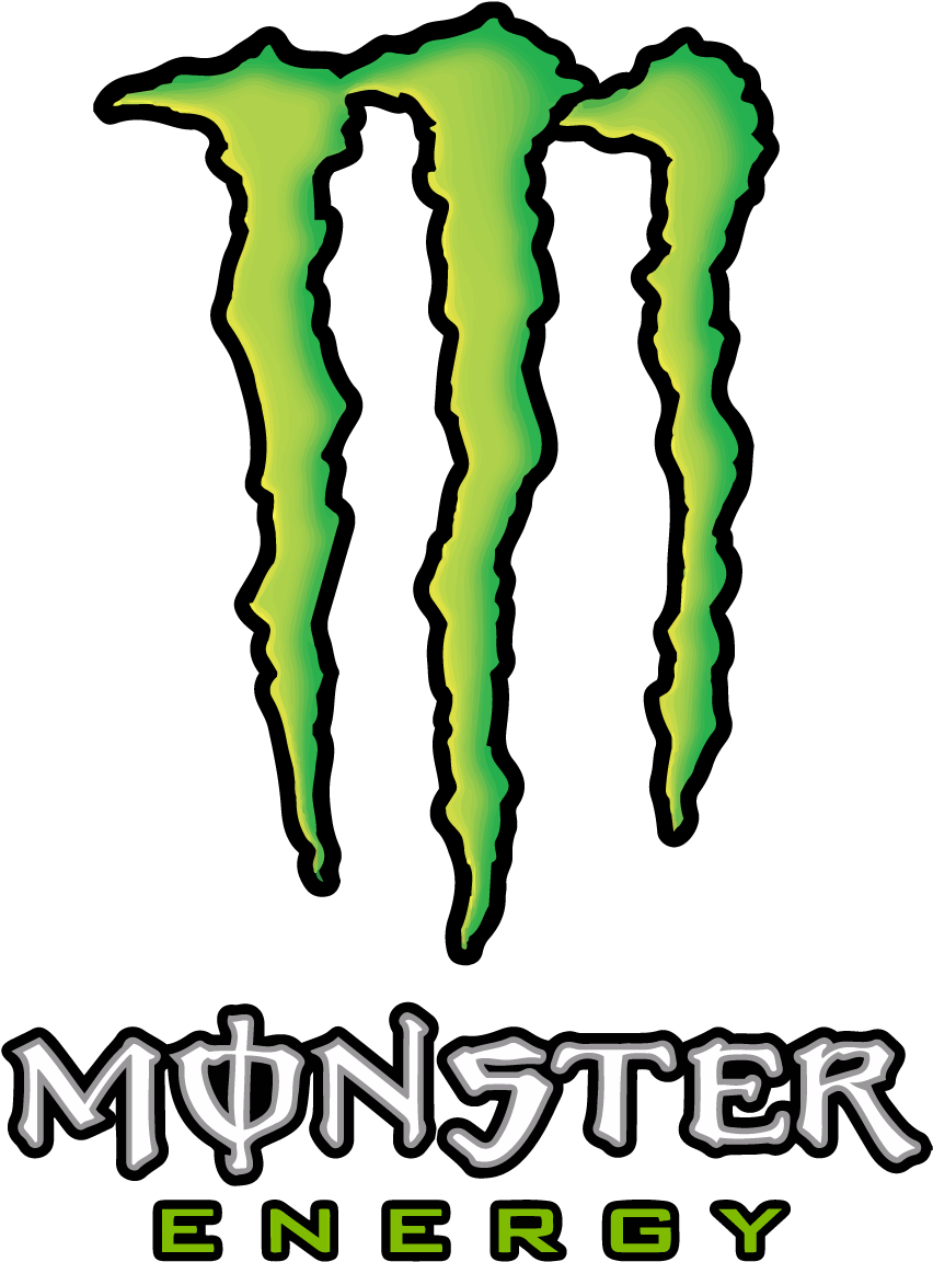 Download Monster Energy Logo Vector Transparent Vertical Monster