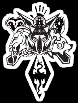 Skyrim Logo Transparent Png : Skyrim fallout 4 electronic ...