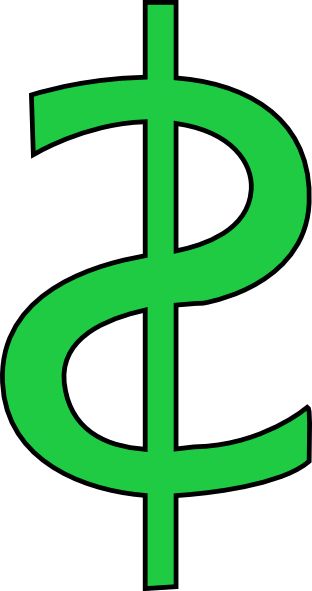 Download Money Sign Green Dollar Sign Clipart Free Images