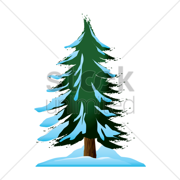 Download Snow Pine Trees Icon Png Clipart Christmas - Pine (600x600), Png Download