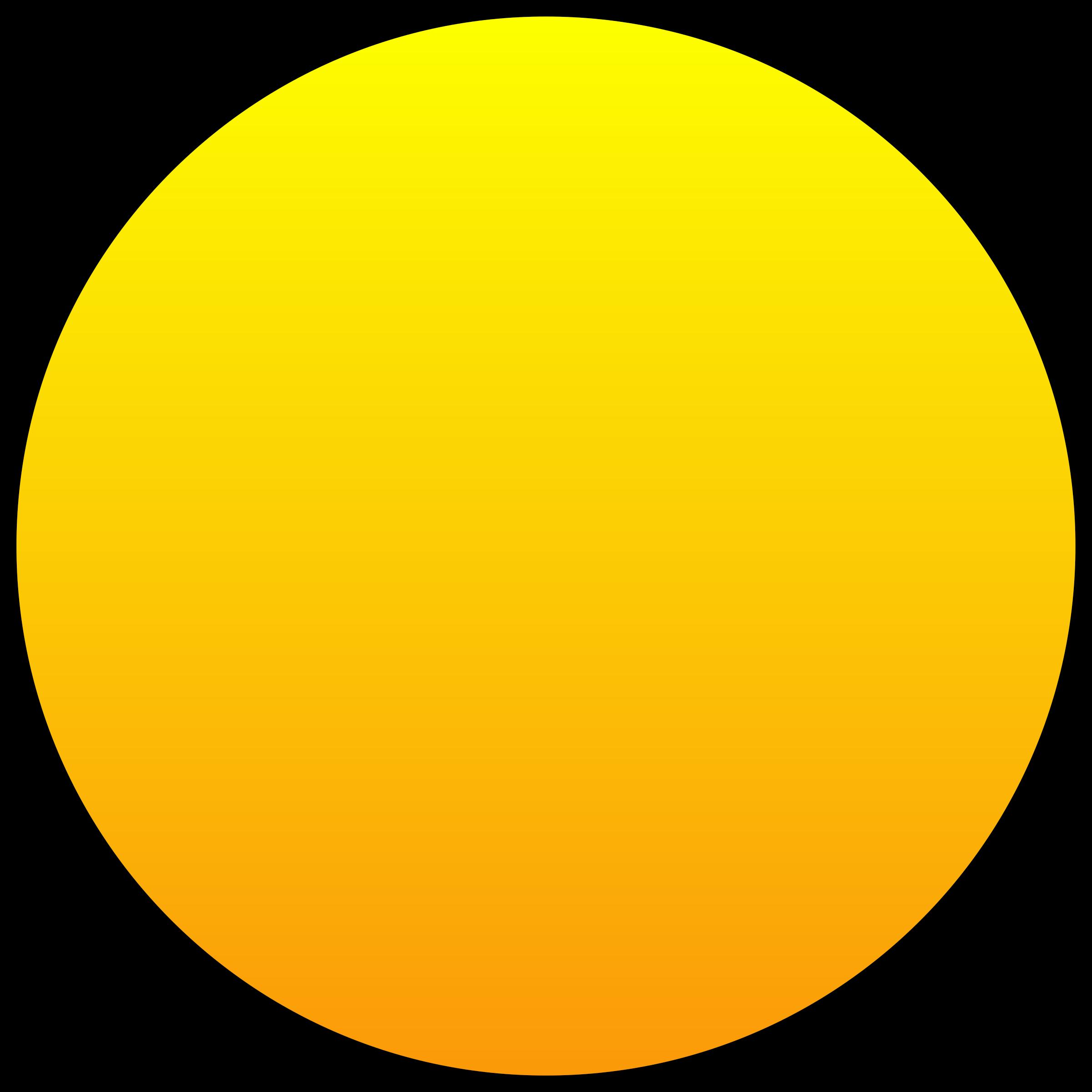 Картинки круг желтый