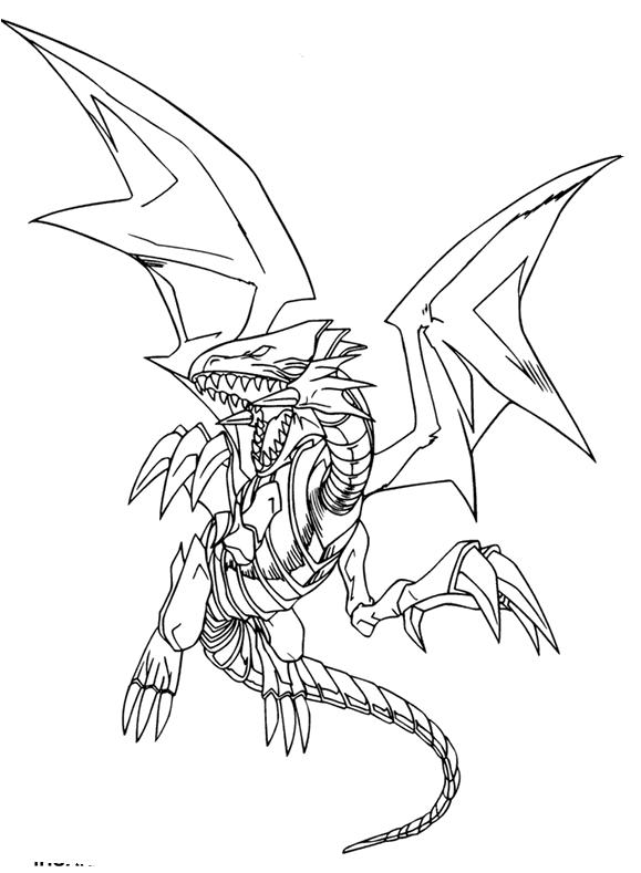 Download Blue Eyes White Dragon Coloring Pages Yugioh Blue Eyes