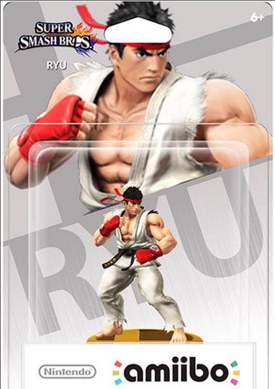 Download Amiibo Smash Ryu - Amiibo Smash Ryu Nintendo Wii-u PNG