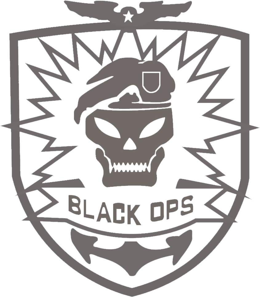Download For Black Ops Logo Skull Call Of Duty Black Ops