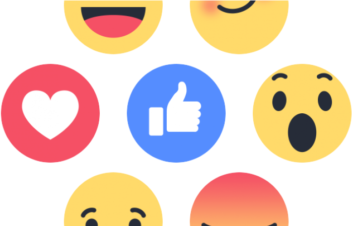 Facebook Like Buttons Png (750x448), Png Download