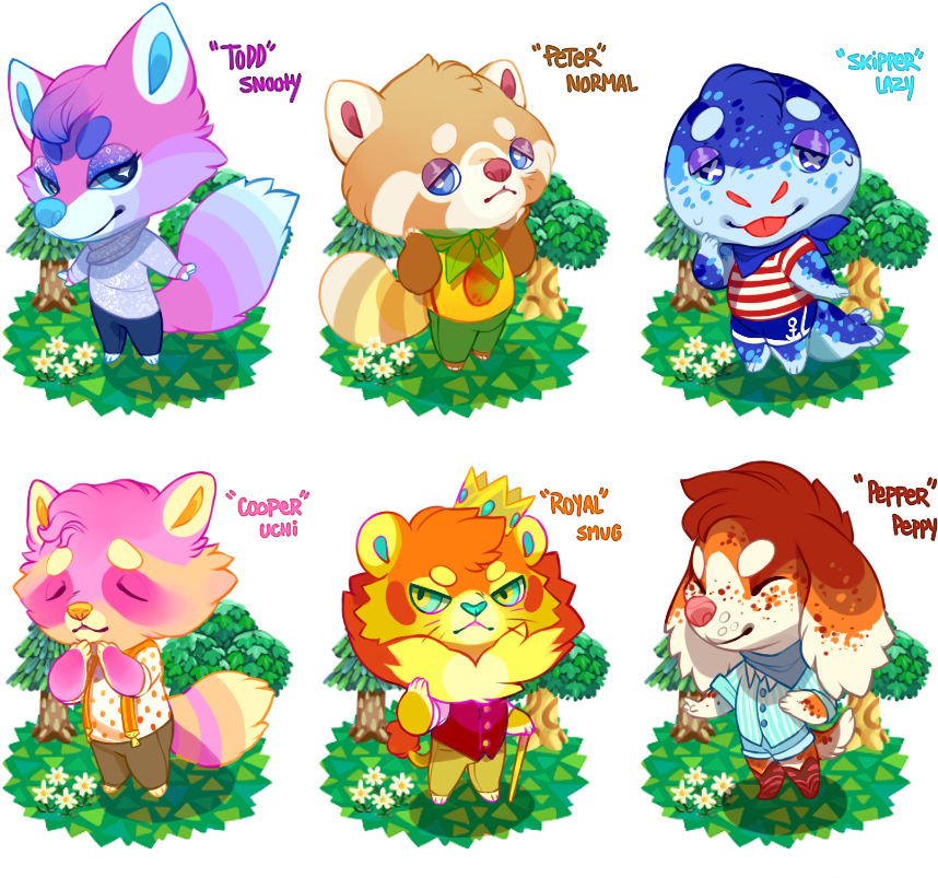 Animal Crossing Villager Adopts - Animal Crossing Seal Villager (1000x849), Png Download