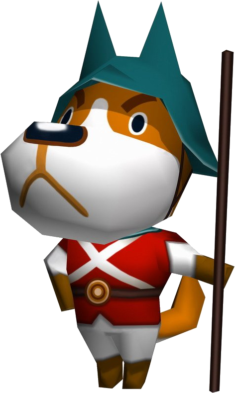 Coppercf Animal Crossing - Animal Crossing Wild World Guards (526x800), Png Download