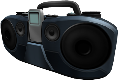 Download Boombox Gear Roblox Gear Id Boombox Png Image With No