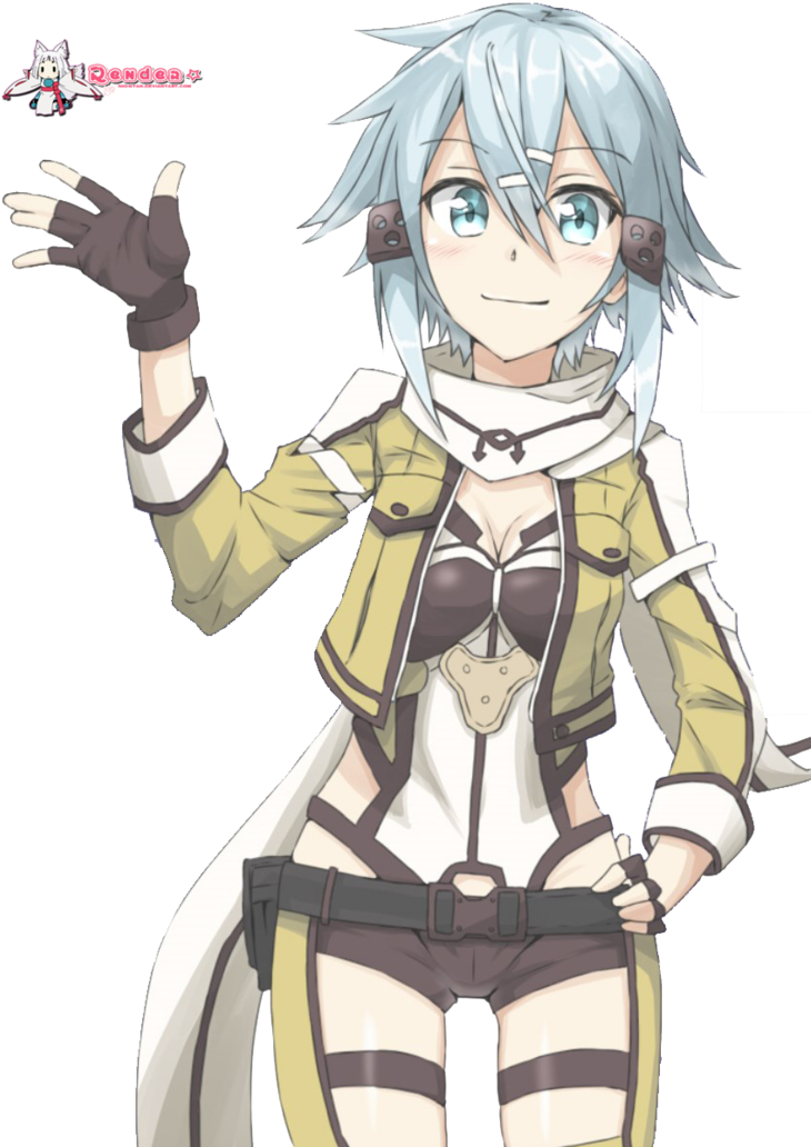 Download Welcome To Reddit, - Sinon Anime Model Sao PNG