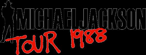 "Michael Jackson Bad Tour Official Logoa - Michael Jackson Bad 1987 Uk 12"" Vinyl 6511556 (582x236), Png Download"