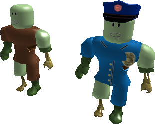 Download Zombie Roblox Zombie Character Png Image With No