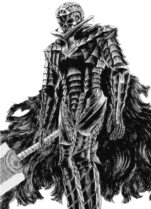 Download Skull Knight Berserk Armour Knight Lilies Monsters Berserk Manga Guts Png Image With No Background Pngkey Com