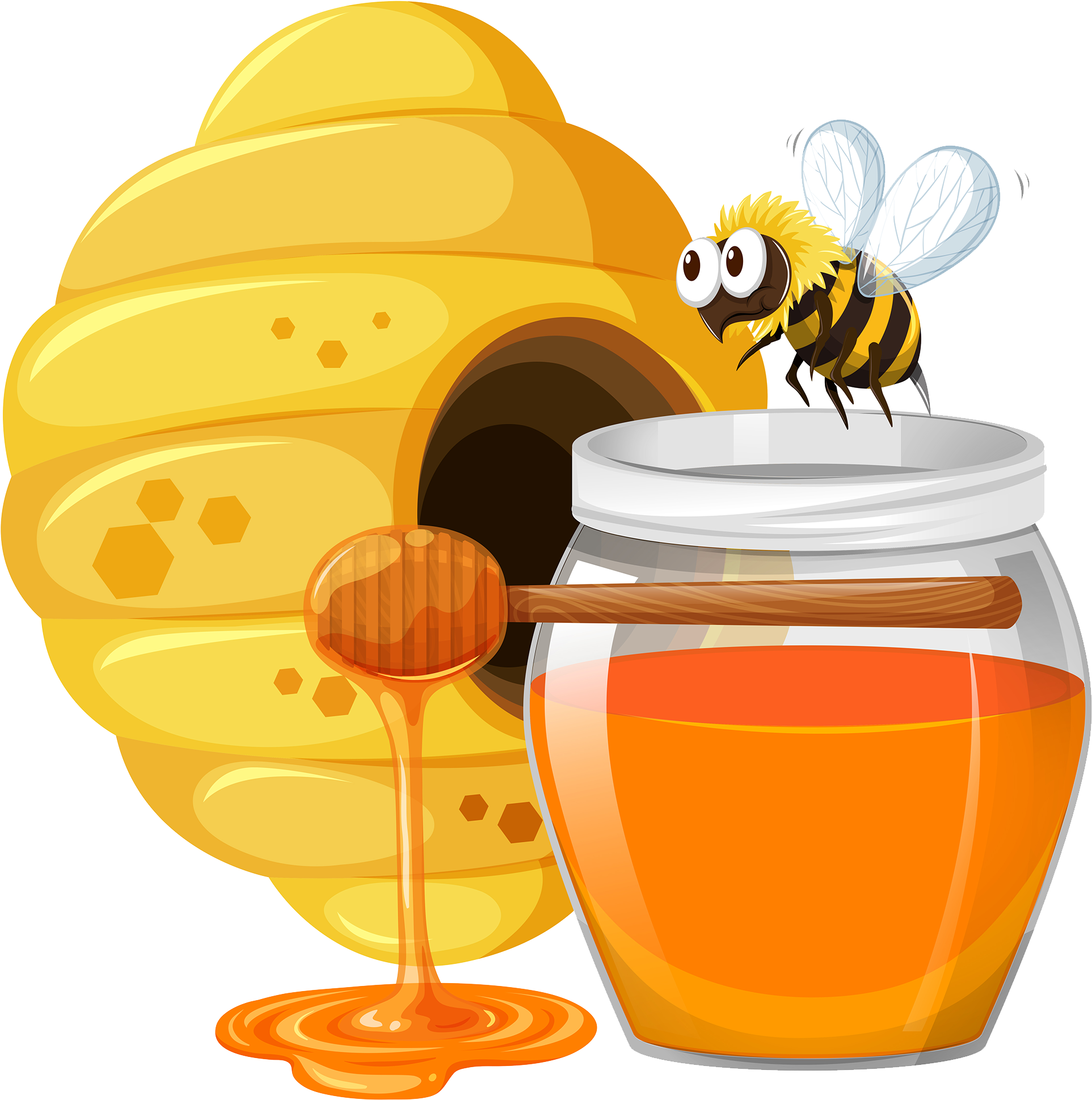 Download Graphic Free Download Honey Cartoon With ...